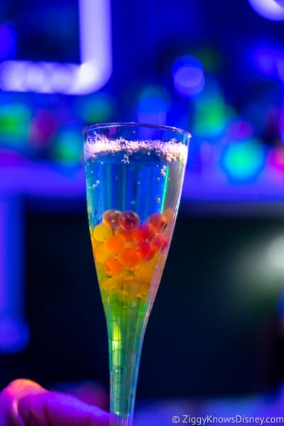 Light Lab Review 2018 Epcot Food and Wine Festival bleu spectrum
