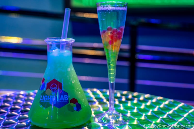 Light Lab Review 2018 Epcot Food and Wine Festival drinks