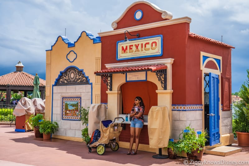 Mexico Review 2018 Epcot Food and Wine Festival booth
