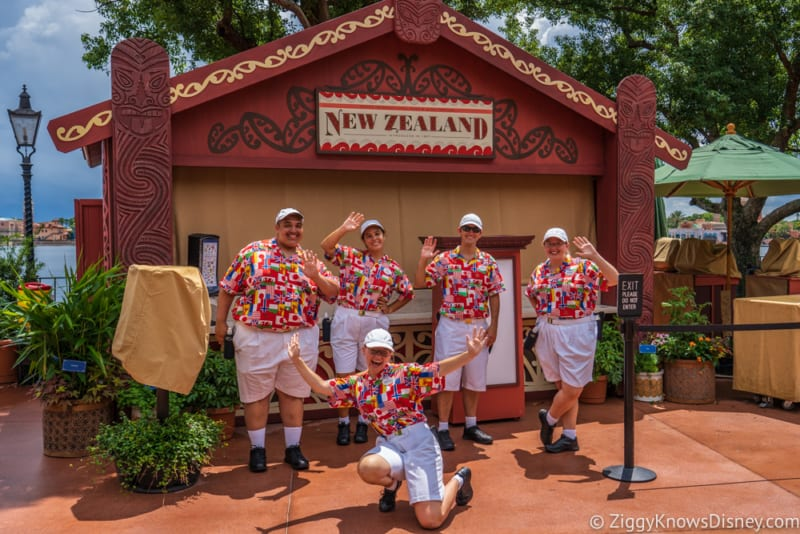 New Zealand Review 2018 Epcot Food and Wine Festival booth