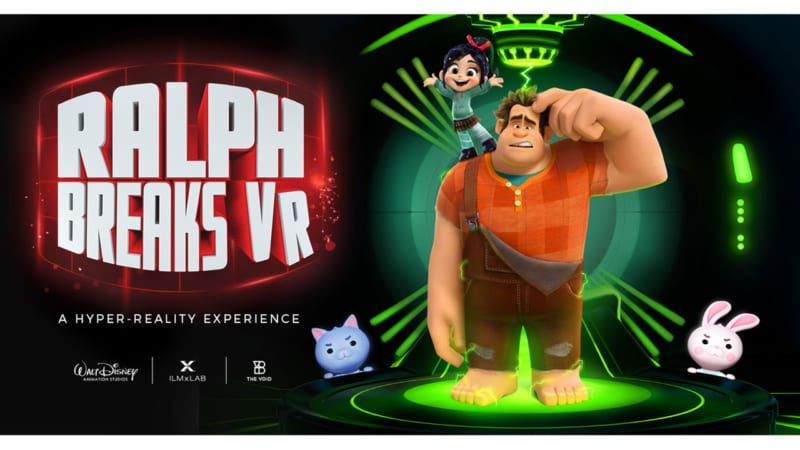 'Ralph Breaks VR' Hyper Reality Experience Coming to Disney Springs