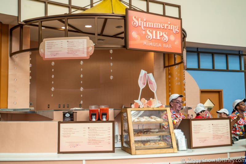 Shimmering Sips Mimosa Bar Review 2018 Epcot Food and Wine Festival Marketplace