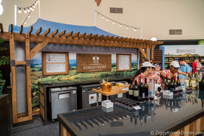 The Festival Wine Shop Review 2018 Epcot Food and Wine Festival marketplace
