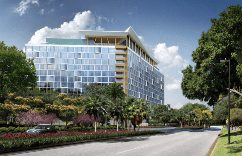 Third Swan and Dolphin Hotel Confirmed for Walt Disney World