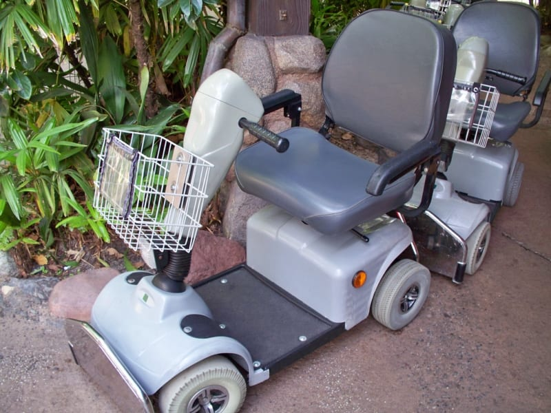 Woman Hit in Scooter on Scooter Accident in Walt Disney World